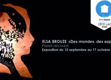 """Exposition Elsa Brouze """"Des mondes, des espoirs"""" à l'Espace Galerie Côté Lac"""
